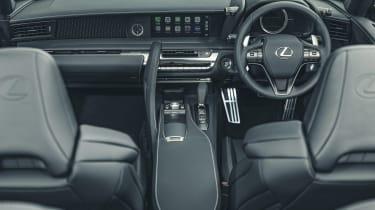 Lexus LC Convertible dashboard