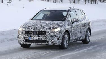 BMW 2 Series Active Tourer development model - front