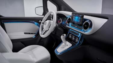 Mercedes Concept EQT - cabin