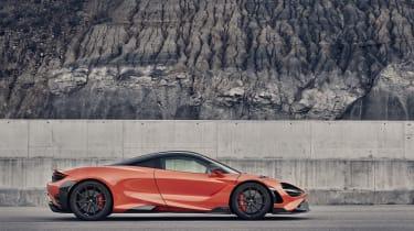 McLaren 765LT - side view static