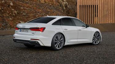 Audi A6 50 TFSI e plug-in hybrid rear