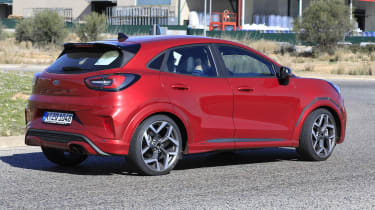 2020 Ford Puma ST - rear 3/4 view passing