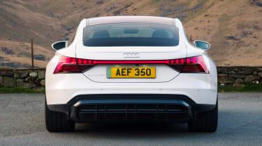 Audi e-tron GT saloon rear static