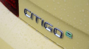 Skoda Citigo e iV hatchback badge