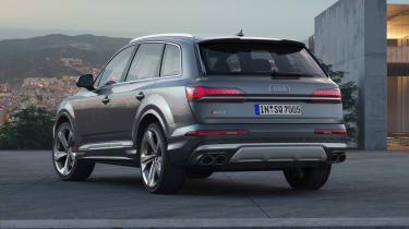 Audi SQ7 TDI - Static rear three quarter