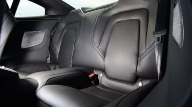 Polestar 1 coupe rear seats
