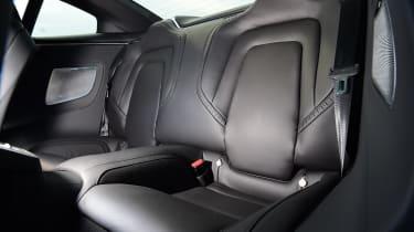 Polestar 1 coupe rear seats