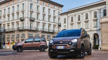 New Fiat Panda Trussardi limited edition - Matt and metallic Caffè Italiano Brown paint options