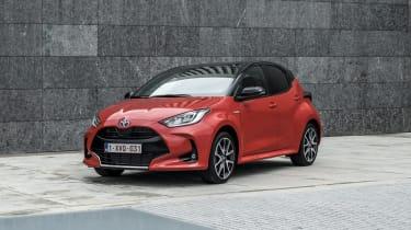 2020 Toyota Yaris - Front 3/4 static