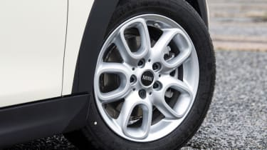 MINI 5-door hatchback alloy wheels