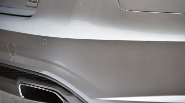 The A6 Avant features modern-looking squared-off exhausts