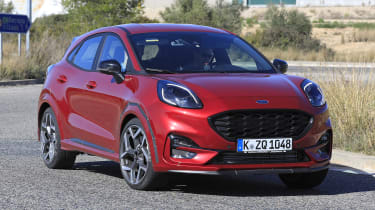 2020 Ford Puma ST - front 3/4 view