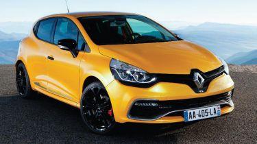 Renault Clio Renaultsport 200 Turbo 2013 front quarter