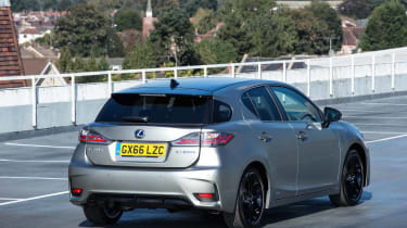 The CT is no longer at the cutting edge of hybrid technology, but still makes a desirable small luxury car