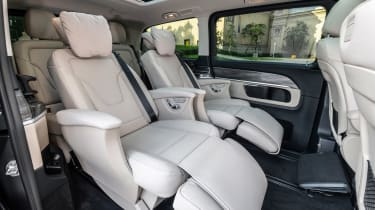 Mercedes V-Class MPV reclining middle row seats