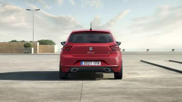 2021 SEAT Ibiza FR Desire Red - rear