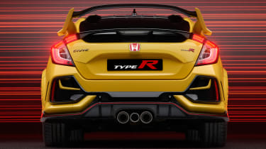 Honda Civic Type R Limited Edition rear