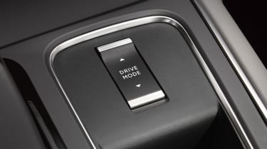Citroen C5 Aircross plug-in hybrid - driving modes selector