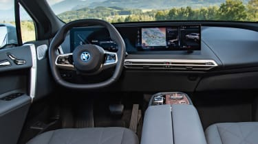 BMW iX SUV interior