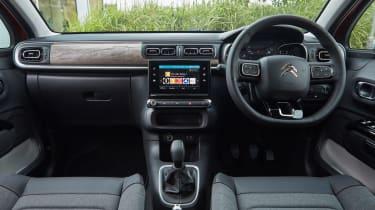 Citroen C3 hatchback interior