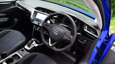 Vauxhall Corsa-e hatchback steering wheel