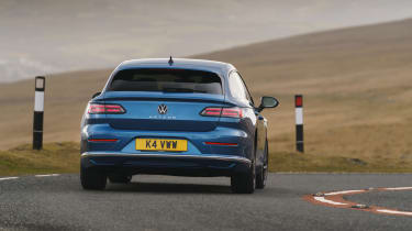 Volkswagen Arteon Shooting Brake estate rear cornering