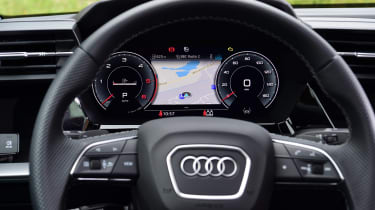 Audi A3 saloon Virtual Cockpit