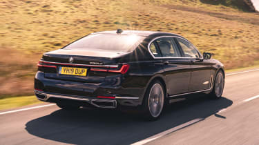 BMW 7 Series saloon - rear 3/4 dynamic