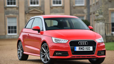 The A1 brings Audi's premium image and impressive build quality to the supermini class