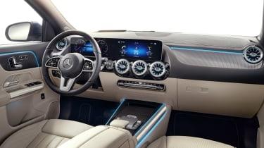 Mercedes GLA interior in beige