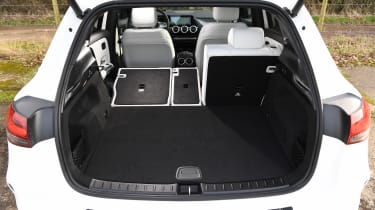 Mercedes EQA SUV review boot