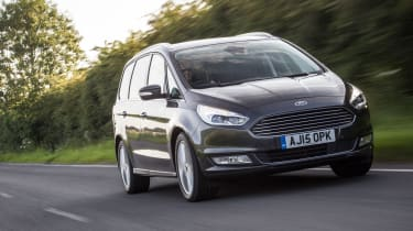 The Galaxy takes on seven-seater rivals like the VW Sharan and SEAT Alhambra