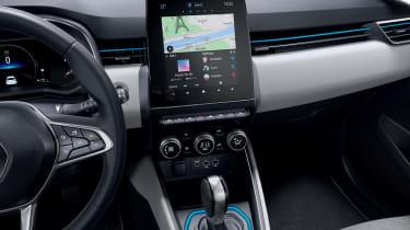 Renault Clio E-Tech Hybrid interior