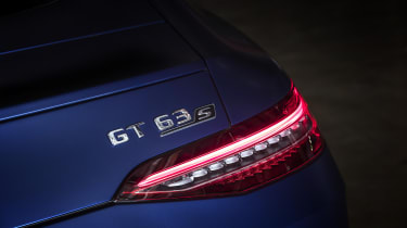 Mercedes-AMG GT 63 right hand rear lamp detail