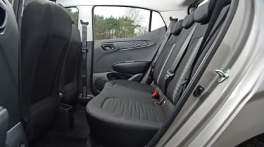 Hyundai i10 hatchback rear seats