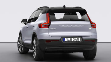 Volvo XC40 Recharge rear static