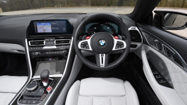 BMW M8 Convertible interior