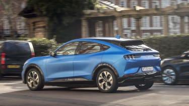 2020 Ford Mustang Mach-E in London - dynamic rear 3/4