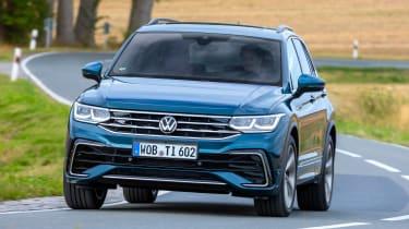 Volkswagen Tiguan SUV front cornering