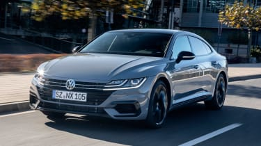 Volkswagen Arteon R-Line Edition driving - front view