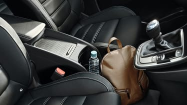 Leather seats are reserved for the top-spec Signature Nav model, though you can order them as an option