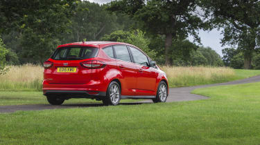 The VW Golf SV, Renault Scenic and Citroen C4 Picasso are among the C-MAX's big rivals