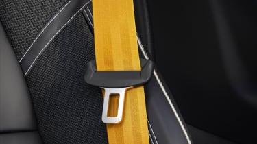 Engineered by Polestar seat belts