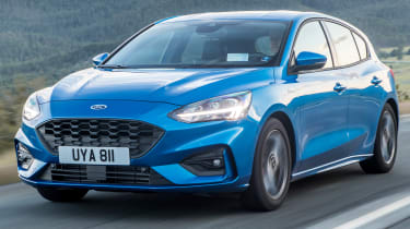 Ford Focus ST-Line driving