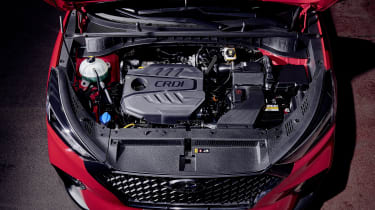 Hyundai Tucson N Line - engine bay