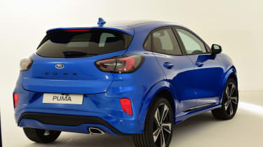 2020 Ford Puma - rear 3/4 view rear