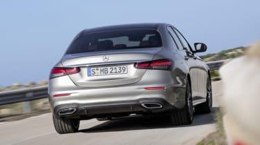 Mercedes E-Class - rear view dynamic