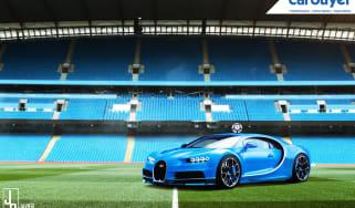 Manchester City Bugatti Chiron