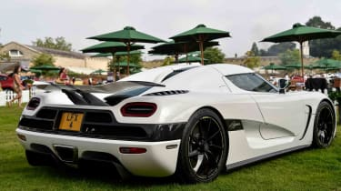 Weighing 1361kg, and developing 1361ps, (1342bhp) the Koenigsegg One:1 name denotes its extraordinary power to weight ratio.