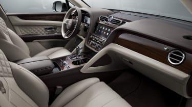 2020 Bentley Bentayga SUV - dashboard